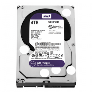 DISQUE DUR INTERNE DE SURVEILLANCE WESTERN DIGITAL 4TO 3.5""