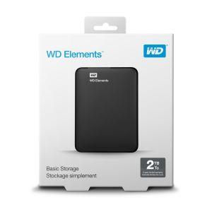 "Disque Dur Externe WESTERN DIGITAL WD 2To USB 3.0 2.5"" - Noir"