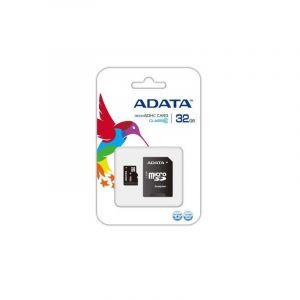 Carte Mémoire ADATA MICRO SDHC 32GB CLASS 10 avec Adaptateur
