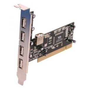 CARTE PCI USB 2,0 - 4 PORTS
