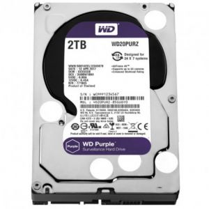 DISQUE DUR INTERNE DE SURVEILLANCE WESTERN DIGITAL 2TO 3.5""