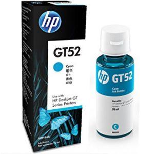 BOUTEILLE D'ENCRE ORIGINALE HP GT52 - CYAN