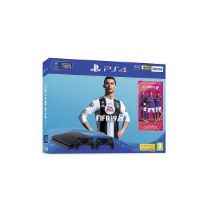 Console Sony PS4 Slim 500 Go Noir + FIFA 19 Standard Edition