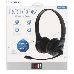 Micro casque PC  Dotcom T'nB