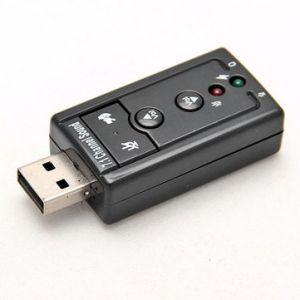 Adaptateur carte son USB 7.1