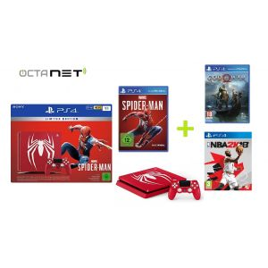 Console Sony PS4 Slim1To + Manette Spider-Man Limited Edition