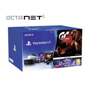 Pack SONY PlayStation VR + PS Camera + VR Worlds+GT SPORT PS4