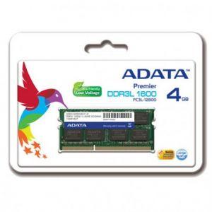 Barrette Mémoire ADATA 4Go DDR3 pour Pc Portable-Low Voltage