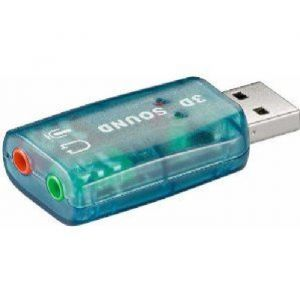 CARTE SON USB 5.1