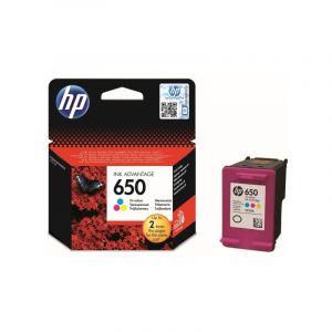 Cartouche Original d'encre HP 650 Couleur