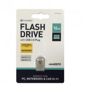 Clé USB PLATINET 16 Go Waterproof Métal USB 2.0
