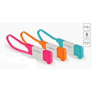 Cliptec LE BLOCAGE Slim Flat USB 2.0 Micro-B Câble OCC100