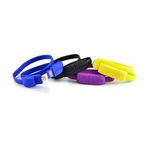 CÂBLE CLIPTEC BRACELET USB VERS MICRO-USB