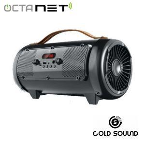 Speaker Rechargable Portable Gold Sound  GS-5201