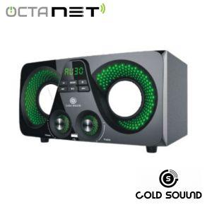 Speaker Rechargable Portable Gold Sound  GS-5305