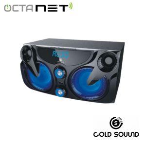 Speaker Rechargable Portable Gold Sound GS-5303