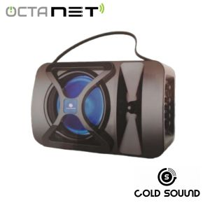 Speaker Rechargable Portable Gold Sound  GS-6201