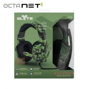 CASQUE T'nB  STEREO GAMING FALCON AVEC MICRO - CAMOUFLAGE