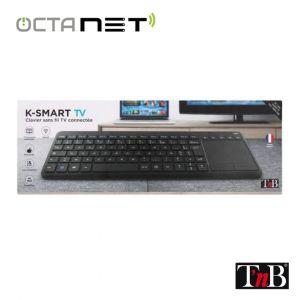 Clavier sans Fil T'nB avec Touch Pad pour Smart TV - K-Smart