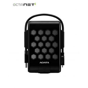 """Disque Dur Externe Anti-Choc ADATA HD720 1To 2.5"""" USB 3.1 Noir"""