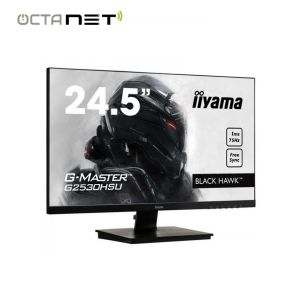 "Ecran IIYAMA G-MASTER Black Hawk 24.5"" Full HD"