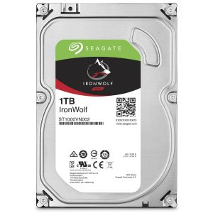 Disque Dur Interne SEAGATE HDD NAS IronWolf 1 To 3.5""