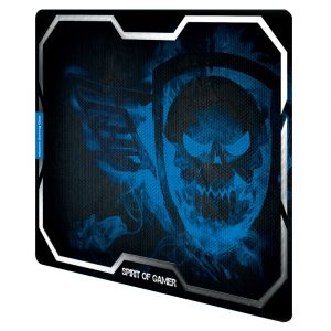 tapis de souris SPIRIT OF GAMER smokey skull king size XL
