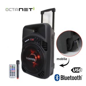 Mini Haut Parleur Mobile Bluetooth TRAXDATA - TRX-B08