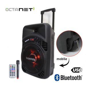 Mini Haut Parleur Mobile Bluetooth TRAXDATA - TRX-B08