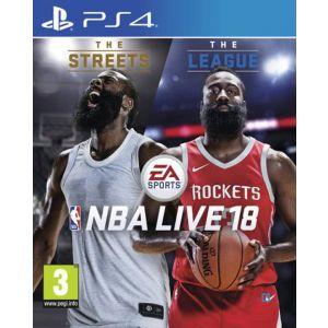 JEU NBA LIVE 18 PS4 SPORT