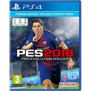 Jeux PS4 PES 2018