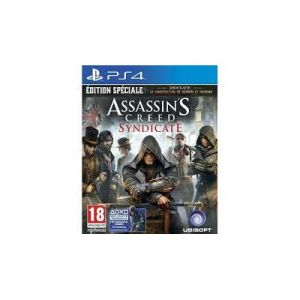 JEU PS4 ASSASSIN'S CREED:SYNDICATE - ED SPÉCIALE