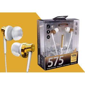 Écouteurs Intra-auriculaires Remax  Filaires en Aluminium-RM-575