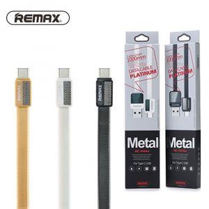 Cable Metal TYPE-C USB Platinum REMAX - RC-044