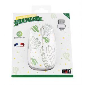 Souris Sans Fil T'nB  Exclusive Design Cactus