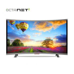 "Téléviseur MAXWELL 65"" UHD LED 4K Smart TV Curved"