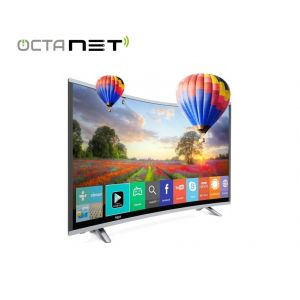 "Téléviseur MAXWELL 40"" LED HD Smart TV Curved"