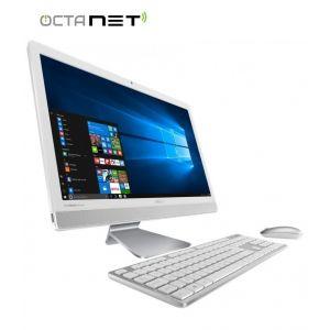 PC de Bureau ALL IN ONE ASUS V221CUK i3 6è Gén 4Go - Blanc