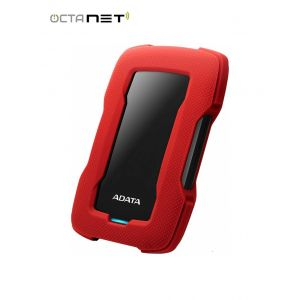 "Disque Dur Externe Anti-Choc ADATA HD330 1To 2.5"" USB 3.1- Rouge"