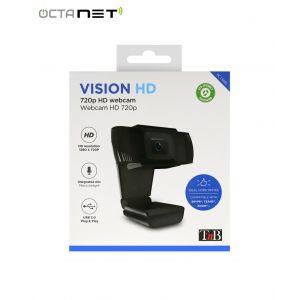 Webcam HD T'nB  Filaire USB 2.0 720 Pixels