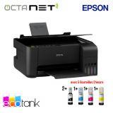 Imprimante EPSON ECOTANK L3150 3En1 à Réservoir Intégré - Wi-Fi