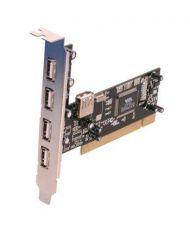 CARTE PCI USB 2,0 - 4 PORTS