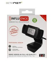 Webcam T'nB FULL HD   Influence USB 1080P