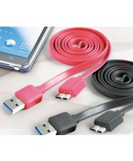 Cliptec EFFECTUER Slim USB 3.0 Micro-B Câble OCC123