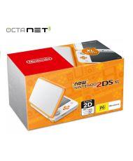NINTENDO Console New 2DS XL Blanc - Orange