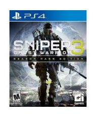JEU SNIPER GHOST WARRIOR 3 PS4(SEASON PASS EDITION)