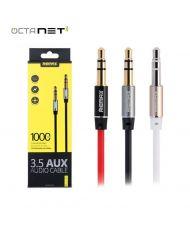Cable 2 Meter AUX Audio  3.5  Remax RL-L200